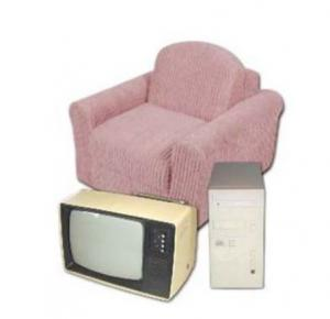 TV and Armchair