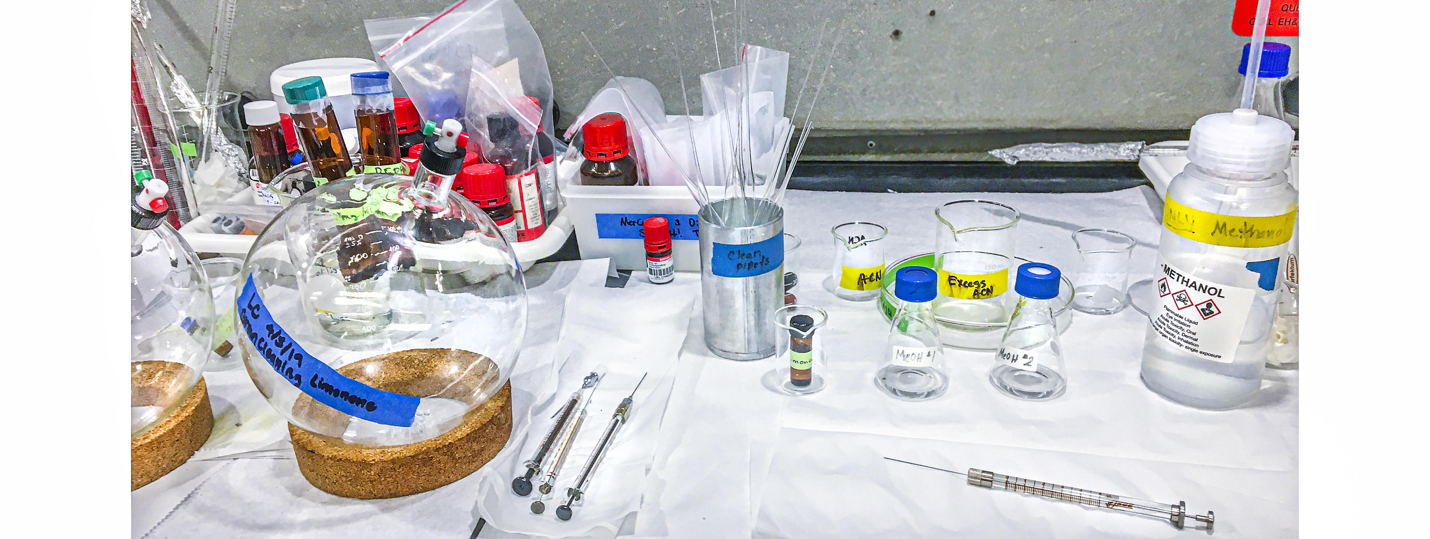 LUCIR Study LBNL Lab Equipment