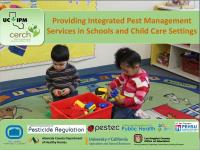 IPM in Schools and Child Care Settings Slide Image